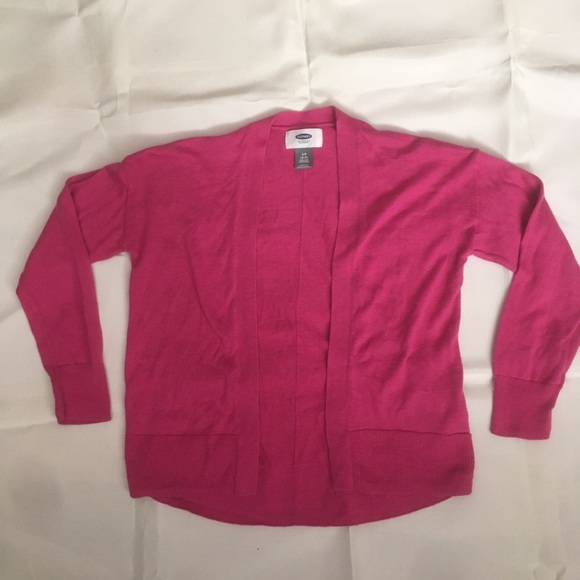 Old Navy Other - Old Navy girls pink cardigan.